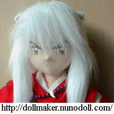 Tutorial Muñeco de Inuyasha Hair_3