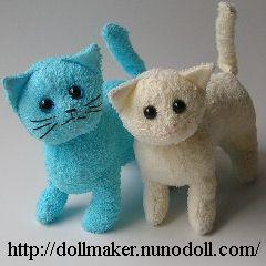 Towel kitties