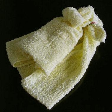 タオルを折る