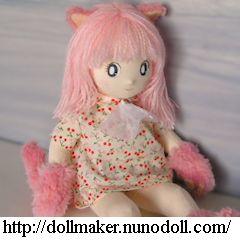 Autres créations => POUPEES Pinkcat