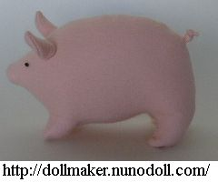 pot belly fabric pig tutorial